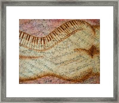Across The Universe Framed Print by Abigail Avila