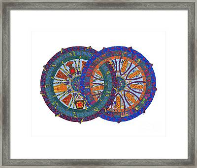 Across The Universe Framed Print by Mary J Winters-Meyer