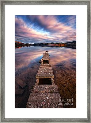 Across The Water Framed Print by John Farnan
