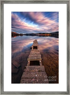 Across The Water Framed Print by John Farnan