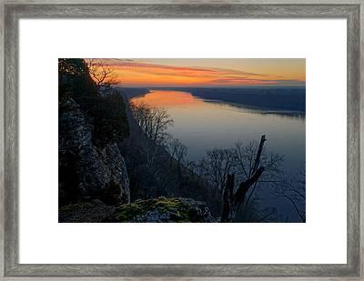 Across The Wide Missouri Framed Print