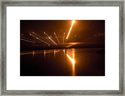 Across The Yamuna Framed Print