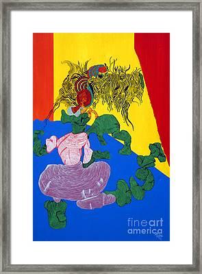 Acrylic Dancer Framed Print