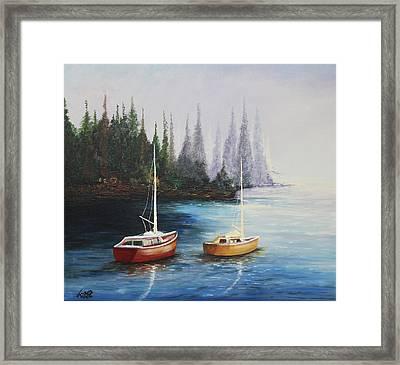 Acrylic Msc 110  Framed Print
