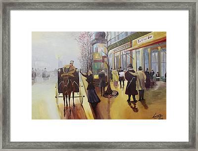 Acrylic Msc 178  Framed Print