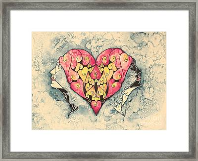 Act Of Grace Framed Print