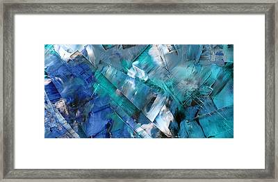 Action 1-b Framed Print