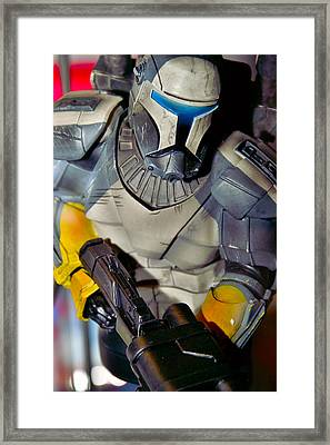 Action Toy Framed Print