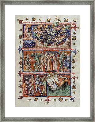 Actions Of Devils Framed Print by British Library