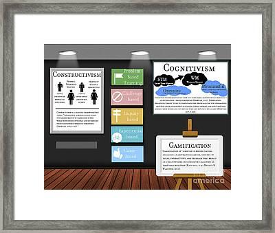 Active Learning Framed Print