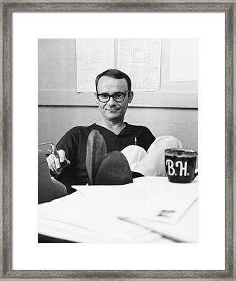 Actor Buck Henry Framed Print