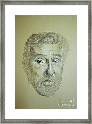 Actor Mario Adorf Sold Framed Print