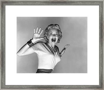 Actress Kathleen Hughes Framed Print