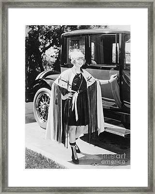 Actress May Allison Framed Print