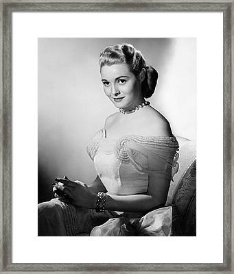 Actress Patricia Neal Framed Print