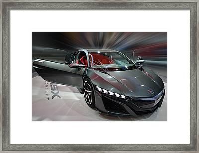 Acura Nsx Concept 2013 Framed Print