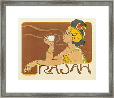 Ad Coffee, 1897 Framed Print by Granger