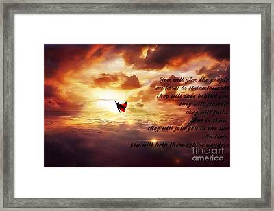 Ad Lucem 3 Framed Print by The DigArtisT