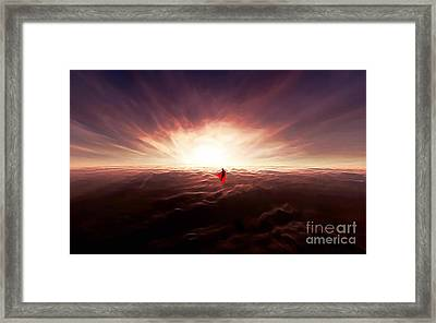 Ad Lucem Version 2 Framed Print by The DigArtisT