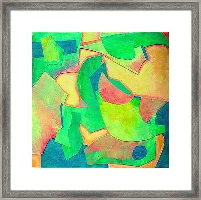 Adagio Framed Print by Diane Fine