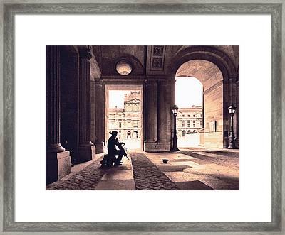 Adagio Parisienne Framed Print by Joachim G Pinkawa