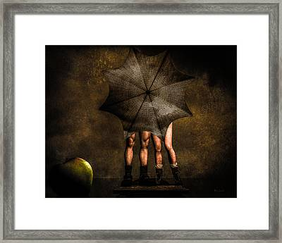 Adam And Eve Framed Print by Bob Orsillo