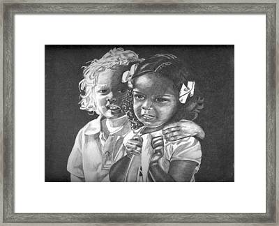 Adam And Evelyn Framed Print