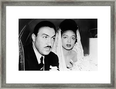 Adam Clayton Powell(1908-1972) Framed Print
