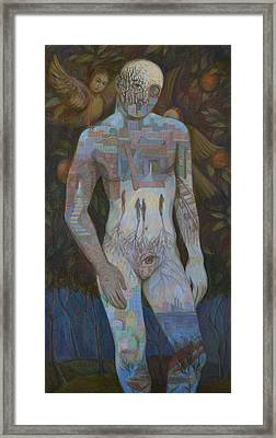 Adam Framed Print by Viktoriya Basina