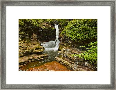 Adams Falls Framed Print