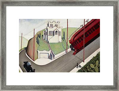 Adams Hill Framed Print