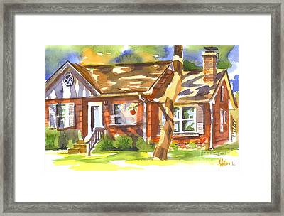 Adams Home Framed Print by Kip DeVore