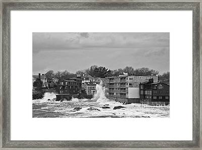 Adams House Splash Framed Print