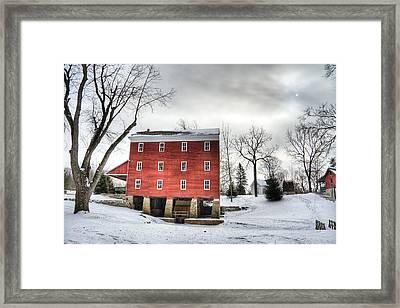 Adams Mill Framed Print