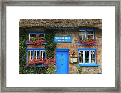 Adare County Limerick Ireland Store Framed Print by Tom Norring