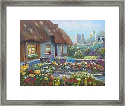 Adare Gardens Co Limerick Framed Print by Tomas OMaoldomhnaigh