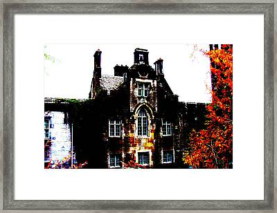 Framed Print featuring the photograph Adare Manor by Charlie and Norma Brock