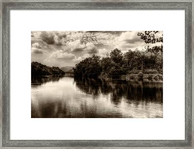 Adda River 2 Framed Print