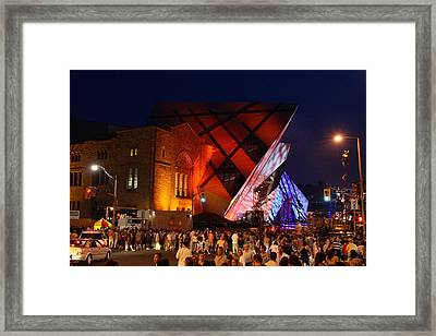 Addition Opening Framed Print by Hugh McClean