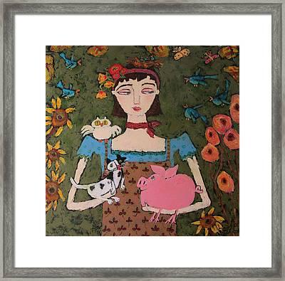 Adel Framed Print by Bailey Jack