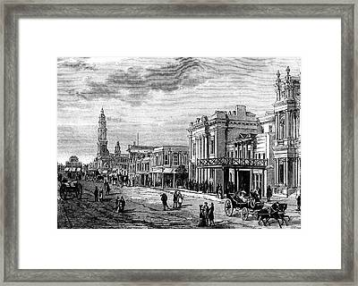 Adelaide Framed Print by Collection Abecasis