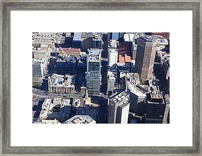 Adelaide Town Hall, Victoria Square Framed Print by Brett Price