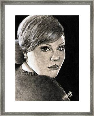Adele - Rolling In The Deep Framed Print