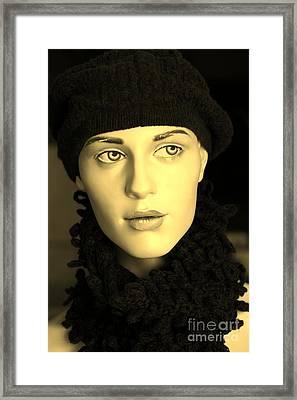 Adele 3 Framed Print by Sophie Vigneault