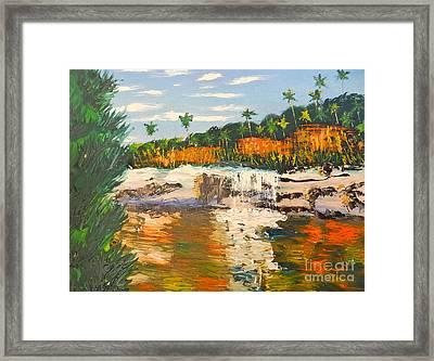 Adele Gorge At Lawn Hill National Park Framed Print