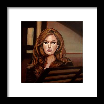Adele Framed Prints
