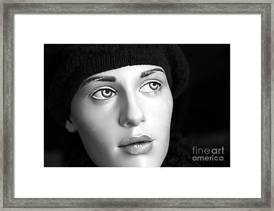 Adele Framed Print by Sophie Vigneault