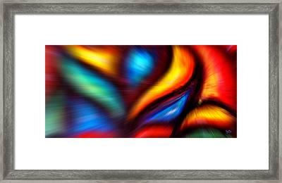 Adesso - Zoom - Marcello Cicchini Framed Print