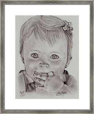 Adia Framed Print by Barb Baker