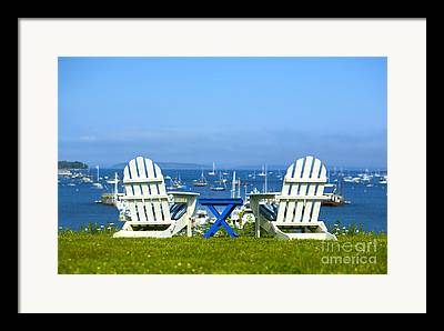 Sailboat Ocean Photographs Framed Prints